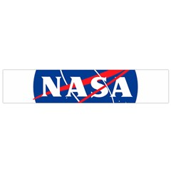 Nasa Logo Small Flano Scarf by Samandel