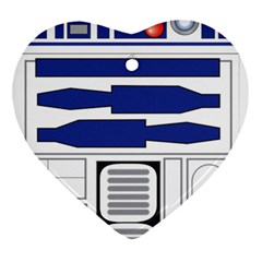 R2 Series Astromech Droid Ornament (heart)