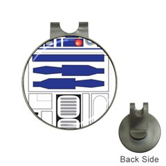 R2 Series Astromech Droid Hat Clips With Golf Markers