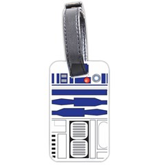 R2 Series Astromech Droid Luggage Tags (one Side)
