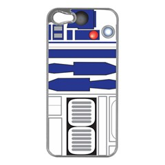 R2 Series Astromech Droid Apple Iphone 5 Case (silver)