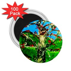 Coral Tree 2 2 25  Magnets (100 Pack)  by bestdesignintheworld