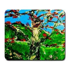 Coral Tree 2 Large Mousepads by bestdesignintheworld