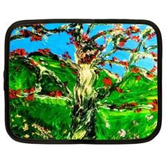 Coral Tree 2 Netbook Case (xxl)  by bestdesignintheworld