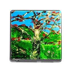 Coral Tree 2 Memory Card Reader (square) by bestdesignintheworld