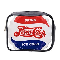Pepsi Cola Bottle Cap Style Metal Mini Toiletries Bag 2 Side