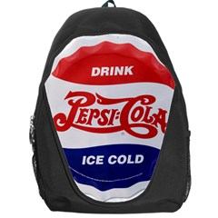Pepsi Cola Bottle Cap Style Metal Backpack Bag by Samandel