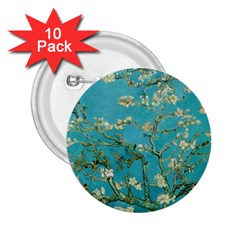 Almond Blossom  2 25  Buttons (10 Pack)  by Valentinaart