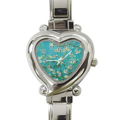 Almond Blossom  Heart Italian Charm Watch by Valentinaart