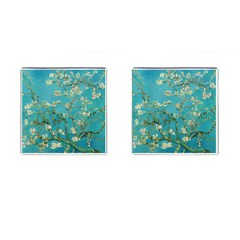 Almond Blossom  Cufflinks (square) by Valentinaart