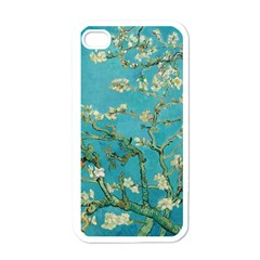 Almond Blossom  Apple Iphone 4 Case (white) by Valentinaart