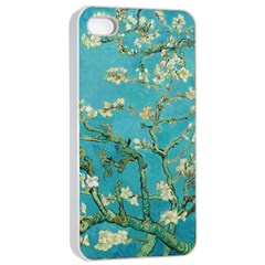 Almond Blossom  Apple Iphone 4/4s Seamless Case (white)