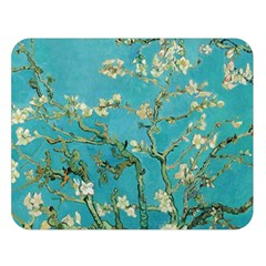 Almond Blossom  Double Sided Flano Blanket (large)