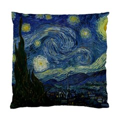 The Starry Night  Standard Cushion Case (one Side) by Valentinaart