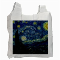 The Starry Night  Recycle Bag (two Side)