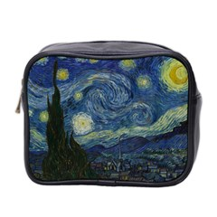 The Starry Night  Mini Toiletries Bag 2 Side by Valentinaart