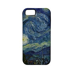 The Starry Night  Apple Iphone 5 Classic Hardshell Case (pc+silicone) by Valentinaart