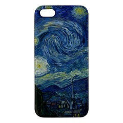 The Starry Night  Apple Iphone 5 Premium Hardshell Case by Valentinaart