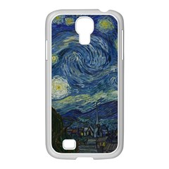 The Starry Night  Samsung Galaxy S4 I9500/ I9505 Case (white) by Valentinaart