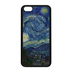The Starry Night  Apple Iphone 5c Seamless Case (black) by Valentinaart