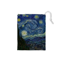 The Starry Night  Drawstring Pouches (small)