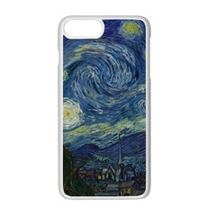 The Starry Night  Apple Iphone 7 Plus Seamless Case (white)