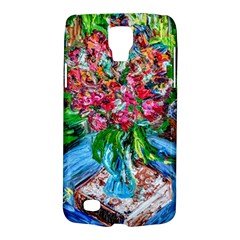 Paint, Flowers And Book Galaxy S4 Active by bestdesignintheworld