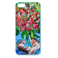 Paint, Flowers And Book Apple Seamless Iphone 5 Case (color) by bestdesignintheworld