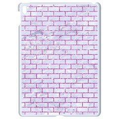 Brick1 White Marble & Purple Glitter (r) Apple Ipad Pro 9 7   White Seamless Case by trendistuff