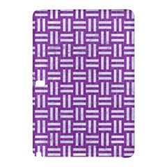 Woven1 White Marble & Purple Denim Samsung Galaxy Tab Pro 12 2 Hardshell Case by trendistuff