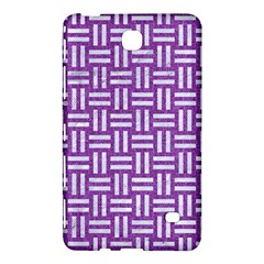 Woven1 White Marble & Purple Denim Samsung Galaxy Tab 4 (8 ) Hardshell Case  by trendistuff