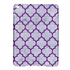 Tile1 White Marble & Purple Denim (r) Ipad Air 2 Hardshell Cases by trendistuff