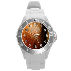 Colors And Fabrics 21 Round Plastic Sport Watch (l) by bestdesignintheworld