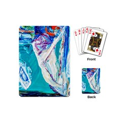 Marine On Balboa Island Playing Cards (mini)