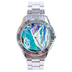Marine On Balboa Island Stainless Steel Analogue Watch by bestdesignintheworld