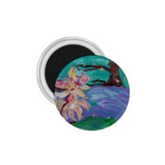 Magnolia By The River Bank 1 75  Magnets by bestdesignintheworld
