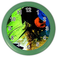 I Wonder Color Wall Clocks by bestdesignintheworld