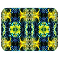 Mystic Yellow Green Ornament Pattern Full Print Lunch Bag