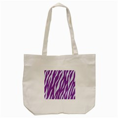 Skin3 White Marble & Purple Denim Tote Bag (cream) by trendistuff