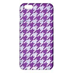 Houndstooth1 White Marble & Purple Denim Iphone 6 Plus/6s Plus Tpu Case by trendistuff