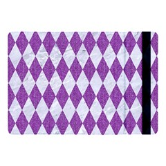 Diamond1 White Marble & Purple Denim Apple Ipad Pro 10 5   Flip Case by trendistuff