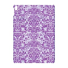 Damask2 White Marble & Purple Denim (r) Apple Ipad Pro 10 5   Hardshell Case