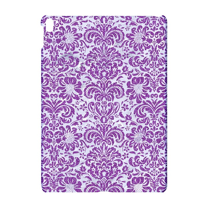 DAMASK2 WHITE MARBLE & PURPLE DENIM (R) Apple iPad Pro 10.5   Hardshell Case