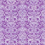 DAMASK2 WHITE MARBLE & PURPLE DENIM Magic Photo Cubes Side 3