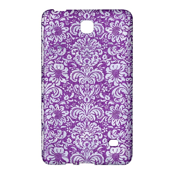 DAMASK2 WHITE MARBLE & PURPLE DENIM Samsung Galaxy Tab 4 (7 ) Hardshell Case