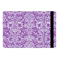 Damask2 White Marble & Purple Denim Apple Ipad Pro 10 5   Flip Case by trendistuff