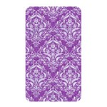 DAMASK1 WHITE MARBLE & PURPLE DENIM Memory Card Reader Front