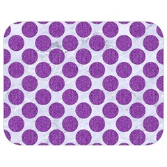Circles2 White Marble & Purple Denim (r) Full Print Lunch Bag by trendistuff