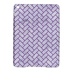 Brick2 White Marble & Purple Denim (r) Ipad Air 2 Hardshell Cases by trendistuff