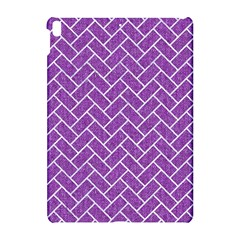 Brick2 White Marble & Purple Denim Apple Ipad Pro 10 5   Hardshell Case by trendistuff